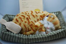 Orange Tabby Cat Life Like Stuffed Animal Breathing Cat Perfect Petzzz