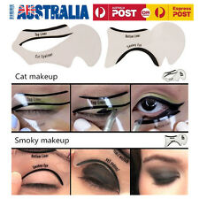 2X Top Bottom Eyeliner Stencil Smokey and Cat Eye Shaping Liner Makeup Stencil