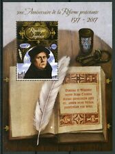 Togo Reformation Stamps 2017 MNH Martin Luther Famous People Religion 1v S/S
