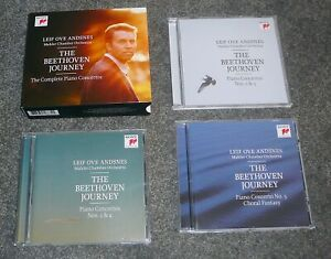 88843058872 - THE BEETHOVEN JOURNEY - LEIF OVE ANDSNES - 3 CD SONY SET.