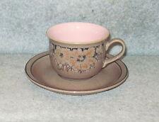 DENBY SUMATRA TEA CUP & SAUCER