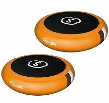 Shrunks Inflatable 2-in-1 Sturdy Portable Trampoline and Pool for Kids (2 Pack)