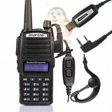 BAOFENG UV-82 DUAL BAND RICETRASMITTENTE WALKIE TALKIE CUFFIE COMUNICAZIONE
