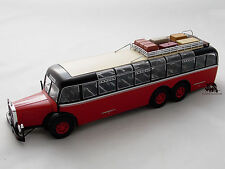 Miniature Bus Autocar MERCEDES BENZ O 10000 d 1938 IXO Coach Car Autobus NEUF