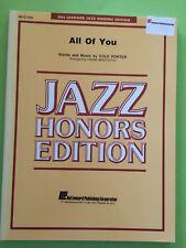 All Of You, Cole Porter, arr. Frank Mantooth, Big Band Arrangement