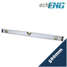 Livella bolla in alluminio magnetica scala graduata 3 bolle mm 500 - SM 60 LA50
