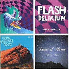 MGMT, Band Of Horses, Flash Delirium  - Sticker SET