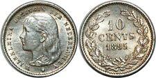 PAYS BAS 10 CENTS 1895 KM#116