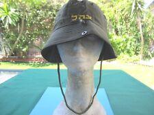 ISRAEL IDF ARMY - GOLANI BRIGADE RAFUL FIELD M CAP/ HAT W/ ORG. SIGN ! AUTH.
