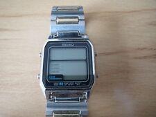 Seiko D138-4010, Running Man, Quartz, LCD, Digital, Vintage, rar, selten, 80er..