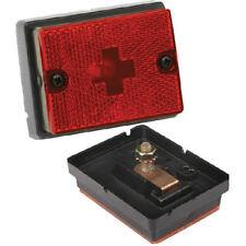 Wesbar 203113 Boat/Utility Trailer Red Side Marker Light With Reflex Lens