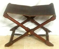 Milling Road Leather folding foot stool chair MCM