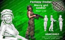 1/35 Scale Armor35 -Merry girl soldier