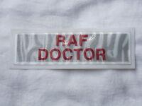 Raf Doctor, Inscription, Écusson pour Jaune Veste D'Avertissement,