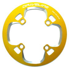 gobike88 Driveline Chainring Guard 44T, BCD 104mm, 75g, Gold, S21