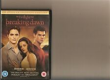 TWILIGHT SAGA BREAKING DAWN PART 1 DVD PATTINSON LAUTNER