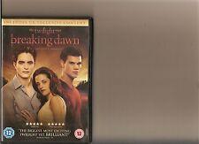 TWILIGHT SAGA BREAKING DAWN PART 1 DVD PATTINSON LAUTNER