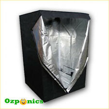 Hydroponics Mylar Grow Tent Room 0.6x0.6x1.4M Mylar Reflective Aluminum Foil