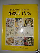 NORMAN LINDSAY - ARTFUL CATS - HB- INTRO BY MEG STEWART