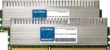 4 GB (2 X 2 GB) DDR3 1800 MHz PC3-14400 240-PIN Kit de RAM DIMM Overclock para juegos de PC