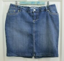 NWT Old Navy Womens Size S (34x17) Maternity Jean Skirt Stretch 109-19656