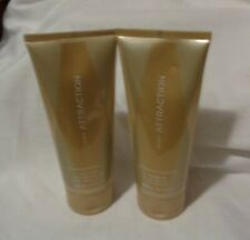 Lot of 2 Avon Attraction for Her Bath Shower Gel & Body Lotion 6.7 oz-New Sealed