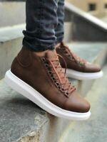 STM Metal Slug Lace-up High Sole Mens Sneaker Boots - 8 Color Herren Sneaker Sch