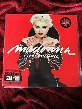 Madonna YOU CAN DANCE Original 1988 PRESS KOREA Vinyl LP Record Promo Label Logo