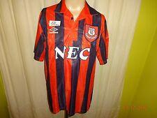 """Everton FC Original Umbro dehors maillot 1991-1993 """"nec"""" taille L Top"""