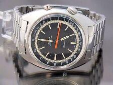 Omega Watch Seamaster Chronostop Tachymetre Caliber 865 Valjoux Swiss 17 Jewels