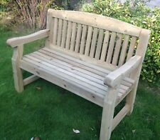 Engraved 4 Foot Softwood Bench -  ideal memorial, retirement, wedding present