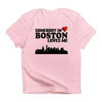 CafePress Somebody In Boston Loves Me Infant T Shirt Baby T-shirt (1681529769)