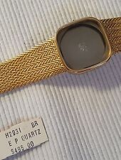 GIRARD PERREGAUX QUARTZ GOLD ELECTROPLATED 18K ONLY BAND AND CASE H2931 PERFECT