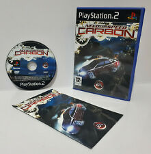 Need For Speed Carbon (PS2, 2006) PAL Disc Mint Complete Brand New Case Retro J2