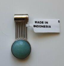 925 Silver Adventurine Stone Pendant