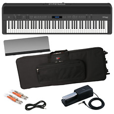ROLAND FP-90 DIGITAL PIANO - BLACK PERFORMER PAK