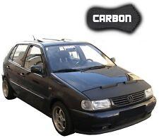 Haubenbra VW Polo 86c 2F CARBON Hood Bonnet Bra Steinschlagschutz Tuning NEU
