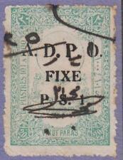 Syria French Occ ADPO Fixed Fees Revenue McD #133 used cv $15
