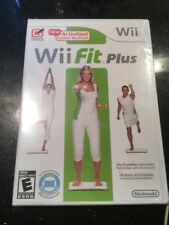 Wii Fit Plus Game for NINTENDO Wii New Factory Sealed FREE SHIPPING
