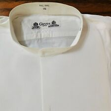Vintage starched tunic shirt size 14.5 Gieves naval dress uniform outfitters