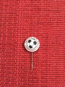 Jugoslavia v Wales, Zagreb 1976, Stick Pin Match Badge