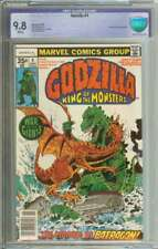GODZILLA #4 CBCS 9.8 WHITE PAGES