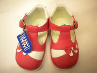 Girls Leather Shoes by Pex  Pink & White  size 2-5 Jessica  First Class Postage