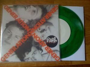 "GENERATION X - Your Generation 7"" GREEN Vinyl"