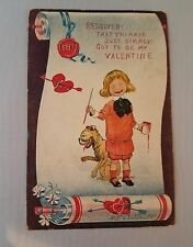 "Vintage Valentine's Day Card ""That you have just simply got to be my valentine """