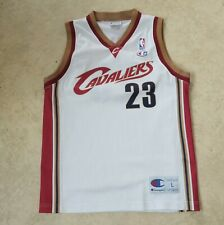 James Cleveland Cavaliers Basketball Jersey Size L Youth Shirt Champion