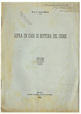 Libro Medicina Sopra Caso di Rotture Cuore Risposta Dott. Benvenuti Cardiologia