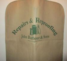 John Barbour & Sons Garment Bag.