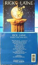 Rick Laine - When Time Was Not... (CD, 1994, Take Five, Swiss INDIE) MEGA RARE