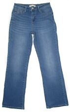 Levis Perfectly Slimming Bootcut 512 8 M 29x32 High Waist Womens Jeans Stretch